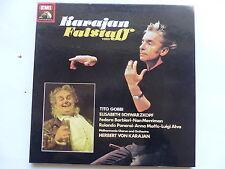 KARAJAN Verdi Falstaff TITO GOBBI SCHWARZKOPF 2C167 03951/2