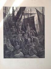 Gustave Dore 1872 Antiguo Billingsgate, fuera de impresión, Londres, Inglaterra