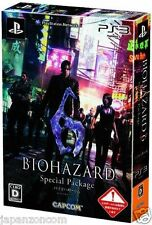 Used PS3 Biohazard 6 Special Package PLAYSTATION 3 SONY JAPAN JAPANESE IMPORT
