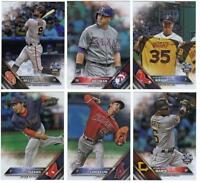 2016 Topps Update Series Baseball - Rainbow Parallel - Choose Card #'s US 1-300