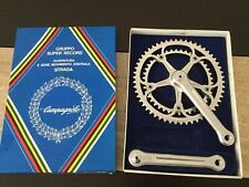 NOS New In Box CAMPAGNOLO Super Record Crankset 54/42T Chainwheel 170mm Fluted