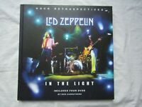 LED ZEPPELIN ROCK RETROSPECTIVES IN THE LIGHT BOOK X4 DVD'S  BOB CARRUTHER'S
