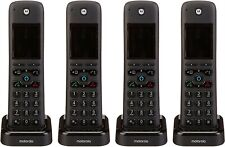 Motorola Axh04 Dect 6.0 Smart Cordless Phone and Answering Machine