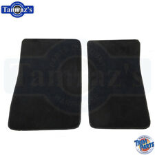 75-80 Pinto Bobcat Front Floor Mats Black 100% Nylon New Clearance