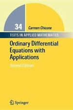 Texts in Applied Mathematics: Ordinary Differential Equations with Applications