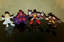 Showdown with Magneto Superhero Squad Set Lot of 4 Emma Frost White Queen ++ SHS