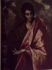 St. John the Evangelist (MINI PRINT) Domenicos  T. El Greco