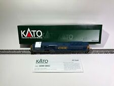 "Athearn 3907 Ho Scale ""Csx"" Sw 1500 Diesel Locomotive 1125 Knuckle Couplers B25"