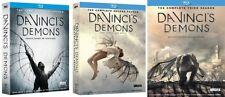 Da Vinci's Demons Complete TV Series Season 1-3 (1 2 & 3) BRAND NEW BLU-RAY SET