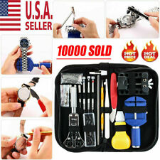 Remover Opener Link Pin Spring Bar 147pcs Watch Repair Kit Watchmaker Back Case