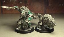 Hordes Circle Orboros Warpborn Alpha & Warwolf ( Metal)
