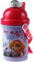 PINK Paw Patrol Girls School Drinking Flask - Flip Top Spout / Carry Handle