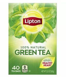 Lipton Tea Bags 100% Natural Green Tea