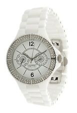 Esprit Collection Damen Armbanduhr Iris Keramik weiß EL101332F05