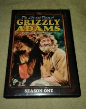 The Life  Times of Grizzly Adams: Season 1 DVD 4-Disc Set Dam Haggerty