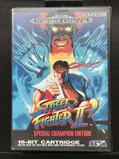 STREET FIGHTER II SPECIAL CHAMPIONSHIP EDITION sega megadrive console game RARE