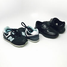 Boys Lot of 2 Shoes New Balance and Cherokee Athletic Shoes Loafers Boys 6.5 7