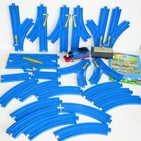 25 x TOMY Thomas the Tank Engine & Friends ~ Blue Trackmaster Train RAIL Bundle