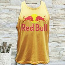 NEW RED BULL ENERGY DRINK RACING BULL LOGO MEN'S TANK TOP SIZE S M L XL