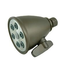 Whitehaus Showerhaus Small Round Showerhead With 6 Spray Jets- Oil Rubbed Bronze