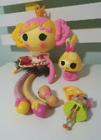 PRINCESS JUNIPER LALALOOPSY DOLL WITH CROWN AND SOME ACCESSORIES
