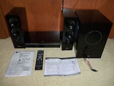 LG LFD790 COMPACT HOME THEATER COMPLETE SYSTEM BUNDLE REMOTE CABLES INSTRUCTIONS