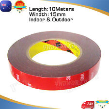 3M Genuine Automotive Acrylic Plus Double Face Sided Tape 15mm x 10 Meters OZ