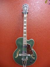 Ibanez AFS75T Steel Metallic Green Finish