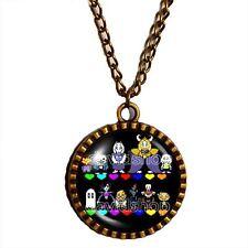 Undertale Necklace Pendant Fashion Jewelry Doggo Undyne Cosplay Multicolor Sans