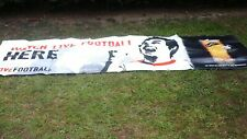 Genuine Carling watch live football pub banner Large