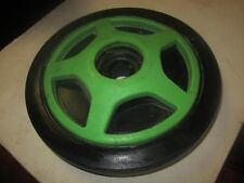 Arctic cat snowmobile green idler wheel used