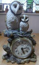 More details for ceramic owl clock – julians quarts