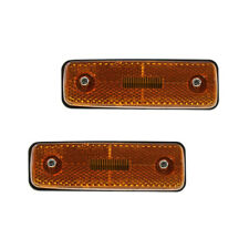 NEW SIDE MARKER LIGHT SET OF 2 FITS TOYOTA LAND CRUISER 1981-1989 1990 TO2550103