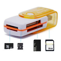 Useful 4 in 1 USB Memory Card Reader For MS MS-PRO TF Micro SD High Speed C9