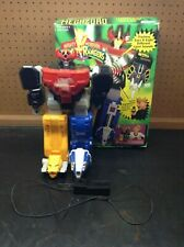 Mighty Morphin Power Rangers Remote Controlled Megazord 1993 With Box