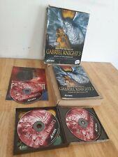 Gabriel Knight 3 Big Box PC Game Sierra 1999 3D Mystery Adventure