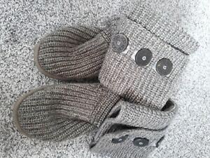 Grey Ugg Boots 5.5