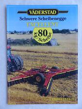0247) Väderstad Excellent 620 - Schwere Scheibenegge - Prospekt Brochure 1995