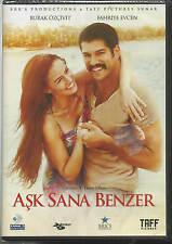 "Ask Sana Benzer/Burak Ozcivit Fahriye Evcen DVD Turkish Movie ""Brand New"""