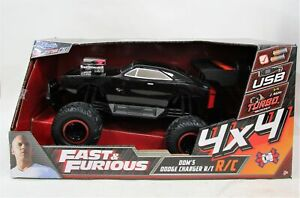 NEW - Fast & Furious Dom's Dodge Charger R/T Remote Control Car - RRP$150