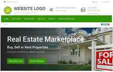 Real Estate Marketplace - Website for Sale Hosting Included