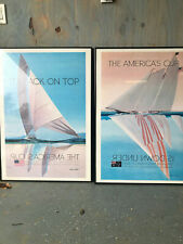 CANVAS Endeavor Racing in the 1995 America/'s Cup Art print POSTER