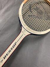 Vintage Dunlop John McEnroe Autograph Wooden Tennis Racquet L@@K