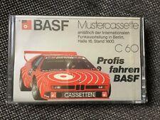 MC*Basf C60 MUSTERCASSETTE*TAPE BLANK   OVP/FACTORY SEALED