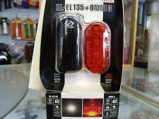 CATEYE HL-EL135---OMNI 3 FRONT AND REAR BICYCLE LIGHTSET