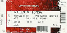 Wales v Tonga 22 Nov 2013 RUGBY TICKET