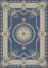 Dolls House Blue & Cream Carpet Stitch Kit by Florashell