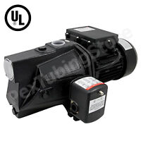 Shallow Well Jet Pump (1/2, 3/4 or 1 HP) w/Pressure Switch, Dual Voltage 115/230