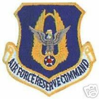 AIR FORCE USAF RESERVE COMMAND AUTHENTIC HOOK LOOP PATCH