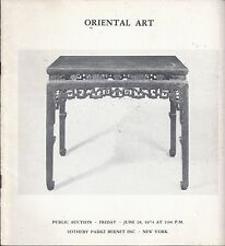 SOTHEBY'S PB CHINESE JAPANESE ART PORCELAIN PAINTINGS FURNITURE Catalog 1974